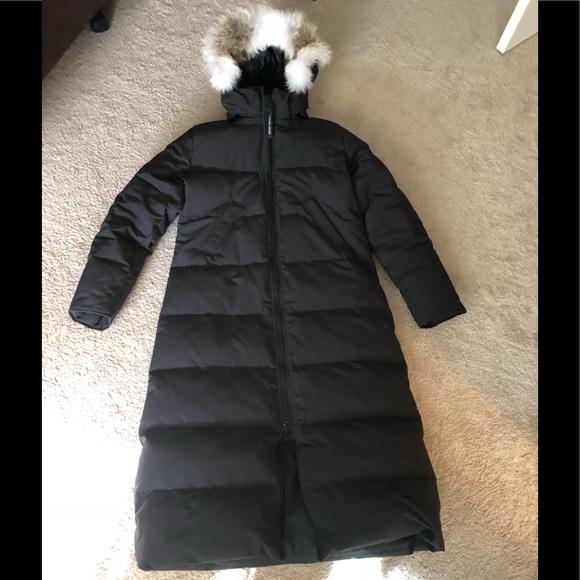 25424cf183 Canada Goose Jackets & Blazers - CANADA GOOSE DOWN MYSTIQUE LONG PARKA COAT  FUR LRG